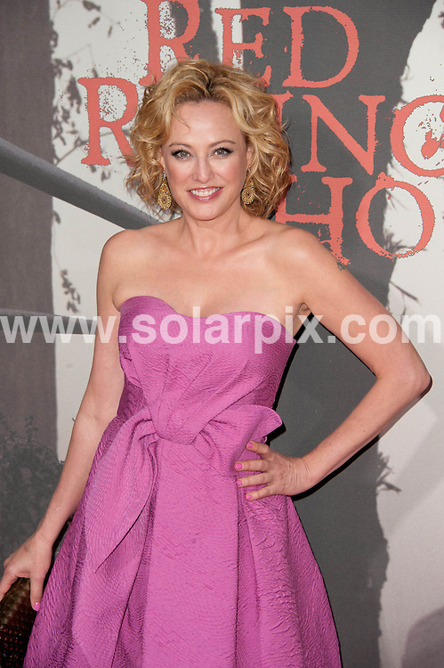 **ALL ROUND PICTURES FROM SOLARPIX.COM**                                             **SYNDICATION RIGHTS FOR UK, AUSTRALIA, DENMARK, PORTUGAL, S. AFRICA, SPAIN & DUBAI (U.A.E) & ASIA (EXCLUDING JAPAN) ONLY**                                                                                  Caption: arrivals at the Los Angeles Premiere of - Red Riding Hood - held at the Grauman's Chinese Theater - Hollywood, CA, USA. 7 March 2011                                                                         This pic: Virginia Madsen                                                                                    JOB REF: 12932 PHZ Gabber      DATE: 07_03_2011                                                          **MUST CREDIT SOLARPIX.COM OR DOUBLE FEE WILL BE CHARGED**                                                                      **MUST AGREE FEE BEFORE ONLINE USAGE**                               **CALL US ON: +34 952 811 768 or LOW RATE FROM UK 0844 617 7637**