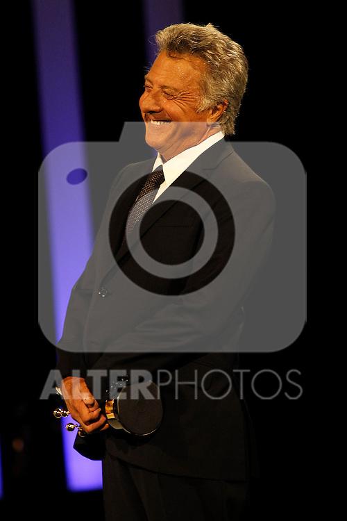 Dustin Hoffman receives the Donosti Award during the 60th San Sebastian Donostia International Film Festival - Zinemaldia.September 29,2012.(ALTERPHOTOS/ALFAQUI/Acero)