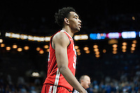 BROOKLYN, NY - Saturday December 19, 2015: Keita Bates-Diop (#33) of Ohio State  and his Buckeyes take on the Kentucky Wildcats as the two teams square off in the CBS Classic at Barclays Center in Brooklyn, NY.