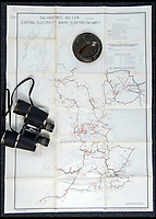 BNPS.co.uk (01202 558833)<br /> Pic: PhilYeomans/BNPS<br /> <br /> The National Grid was also mapped.<br /> <br /> Chilling - Hitlers 'How to' guide to the invasion of Britain.<br /> <br /> A remarkably detailed invasion plan pack of Britain has been unearthed to reveal how our genteel seaside resorts would have been in the front line had Hitler got his way in World War Two.<br /> <br /> The Operation Sea Lion documents, which were issued to German military headquarters' on August 1, 1940, contain numerous maps and photos of every town on the south coast.<br /> <br /> They provide a chilling reminder of how well prepared a German invading force would have been had the Luftwaffe not been rebuffed by The Few in the Battle of Britain.<br /> <br /> There is a large selection of black and white photos of seaside resorts and notable landmarks stretching all the way from Land's End in Cornwall to Broadstairs in Kent.<br /> <br /> The pack also features a map of Hastings, raising the possibility that a second battle could have been staged there, almost 900 years after the invading William The Conqueror triumphed in 1066.