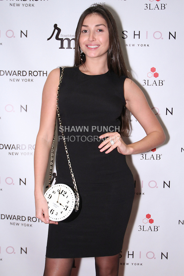 """Image from the 2nd annual Holiday Wives Soiree """"Dress for Success"""" event, held at the Helen Yarmak showroom located at 730 Fifth avenue, on December 9, 2014."""