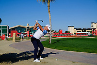 Paul Waring (ENG) on the 9th fairway during the 1st round of the Abu Dhabi HSBC Championship, Abu Dhabi Golf Club, Abu Dhabi,  United Arab Emirates. 16/01/2020<br /> Picture: Fran Caffrey | Golffile<br /> <br /> <br /> All photo usage must carry mandatory copyright credit (© Golffile | Fran Caffrey)