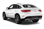 Car pictures of rear three quarter view of a 2019 Mercedes Benz GLE Coupe AMG GLE43 5 Door SUV angular rear