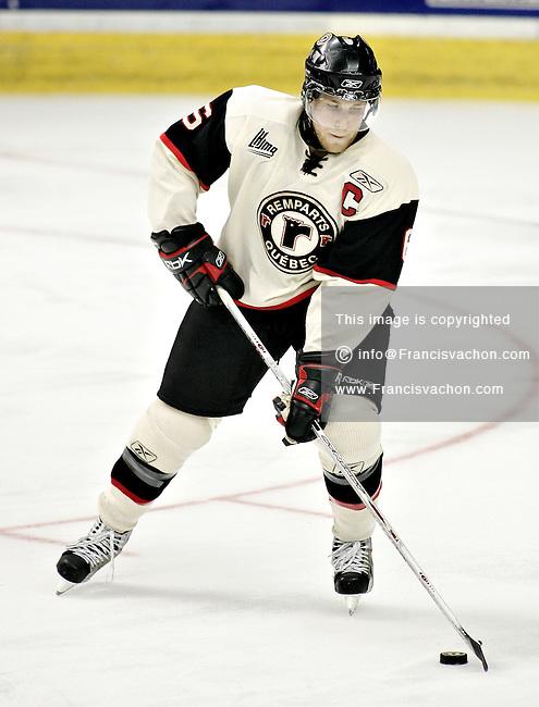 QMJHL (LHJMQ) Quebec Remparts #6 Pierre Bergeron