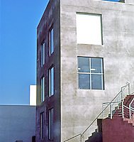 Frank Gehry: ICS/ERF Complex, Irvine. Engineering Research Facility. Detail--west. (Photo '86)