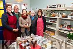 Pictured at the opening of Waterville's Farm Shop/An Siopa Feirme on Friday last were l-r; Caitlin Breathnach, Tadhg O'ullivan, Sabine Von Burg(supplier), Nora O'Sullivan & Kim Elliot.