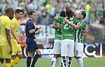 Nacional goleó de local 7-0 a Bucaramanga en partido válido por la fecha 11 de la Liga Águila I-2016