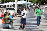Rio de  Janeiro,13 de  junho de 2012- Movinenta&ccedil;&atilde;o na  praia de  Ipanema no in&iacute;cio da tarde  dessa  quarta-feira(10) na  capital  fluminense.<br /> Guto Maia Brazil Photo Press