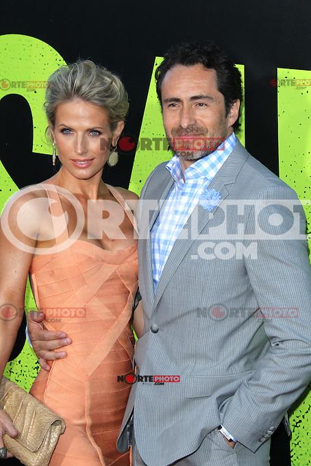 Lisset Gutierrez and Demain Bichir at the Premiere of Universal Pictures' 'Savages' at Westwood Village on June 25, 2012 in Los Angeles, California. &copy;&nbsp;mpi21/MediaPunch Inc. /*NORTEPHOTO.COM*<br /> **SOLO*VENTA*EN*MEXICO** **CREDITO*OBLIGATORIO** *No*Venta*A*Terceros* *No*Sale*So*third* *** No Se Permite Hacer Archivo** *No*Sale*So*third*&Acirc;&copy;Imagenes con derechos de autor,&Acirc;&copy;todos reservados. El uso de las imagenes est&Atilde;&iexcl; sujeta de pago a nortephoto.com El uso no autorizado de esta imagen en cualquier materia est&Atilde;&iexcl; sujeta a una pena de tasa de 2 veces a la normal. Para m&Atilde;&iexcl;s informaci&Atilde;&sup3;n: nortephoto@gmail.com* nortephoto.com.