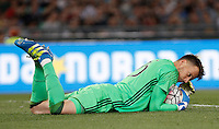 Calcio, finale Tim Cup: Milan vs Juventus. Roma, stadio Olimpico, 21 maggio 2016.<br /> Juventus&rsquo; goalkeeper Neto grabs the ball during the Italian Cup final football match between AC Milan and Juventus at Rome's Olympic stadium, 21 May 2016.<br /> UPDATE IMAGES PRESS/Isabella Bonotto