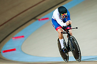 Picture by Alex Whitehead/SWpix.com - 22/03/2018 - Cycling - 2018 UCI Para-Cycling Track World Championships - Rio de Janeiro Municipal Velodrome, Barra da Tijuca, Brazil - Blaine Hunt of Great Britain competes in the Men's C5 1km Time Trial final.