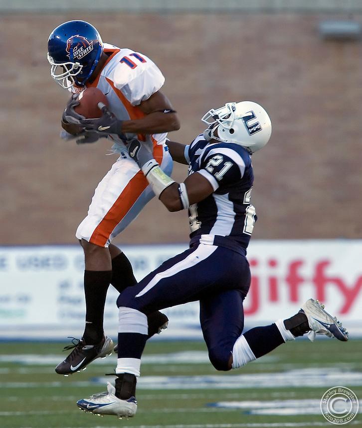10-22-05- Logan Ut. Boise State vs.Utah State  in football at Romney Stadium. Boise State won 45-21.