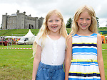 Caoimhe Duffy and Amy Patterson pictured at the Ladywell Fete at Slane Castle. Photo: Colin Bell/pressphotos.ie