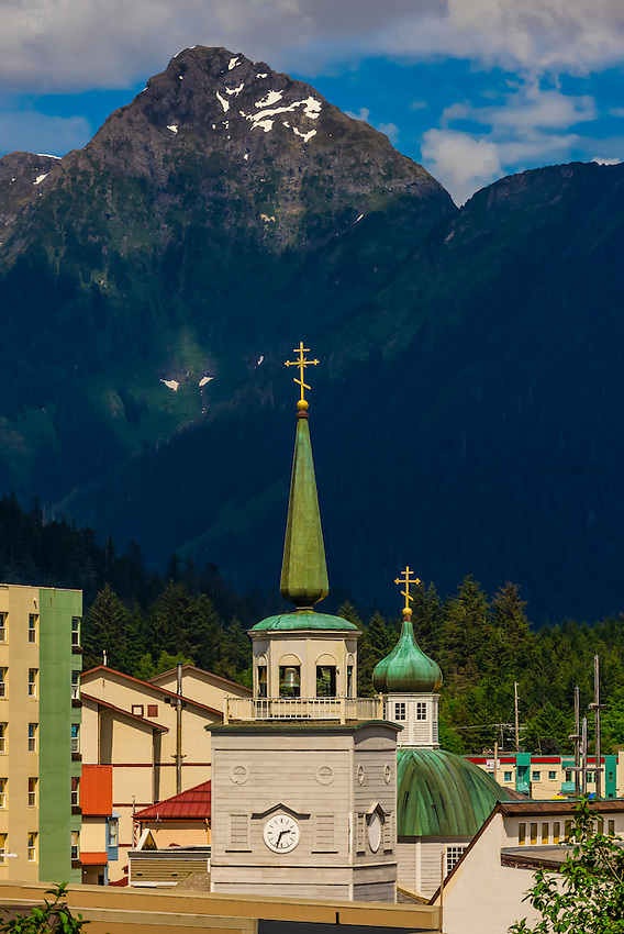 St. Michael's Russian Orthodox Cathedral, Sitka, Alaska USA.