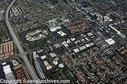 aerial photograph Apple Computer, Cupertino, Santa Clara county, California