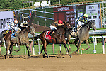 September 05, 2020:Makingcents #1 ridden by Luis Saez Trained by Jeremiah Engelhart wins the Fleet Indian S. on New York Bred Stakes day at Saratoga Race Course in Saratoga Springs, New York. Rob Simmons/CSM