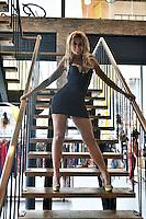 São Paulo, 11.11.14 - A modelo Fernanda Lacerda, a Mendigata, participa de evento em loja do Bras, na tarde dessa terça feira, 11, na Zona Central de São Paulo. (Foto: Eduardo Carmim/Brazil Photo Press)