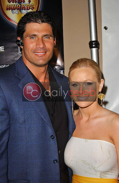 Jose Canseco and Katie Lohmann<br />