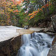 "This is the image for September in the 2014 White Mountains New Hampshire calendar. A section of rocky gorge just above the ""other"" Pitcher Falls, located on the South Fork of the Hancock Branch in the White Mountains, New Hampshire USA. Purchase the calendar here: http://bit.ly/1audUBp ."