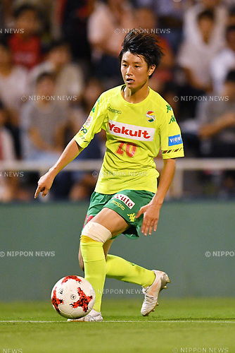 Hiro Ozawa (JEF Ladies), <br /> AUGUST 12, 2017 - Football / Soccer : <br /> Plenus Nadeshiko League Cup 2017 Division 1 <br /> Final match between JEF United Ichihara Chiba Ladies 1-0 Urawa Reds Ladies<br /> at Nishigaoka Soccer Stadium in Tokyo, Japan. <br /> (Photo by MATSUO.K/AFLO)