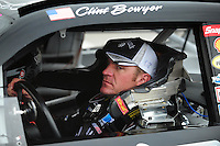 Feb 9, 2008; Daytona, FL, USA; Nascar Sprint Cup Series driver Clint Bowyer during practice for the Daytona 500 at Daytona International Speedway. Mandatory Credit: Mark J. Rebilas-US PRESSWIRE