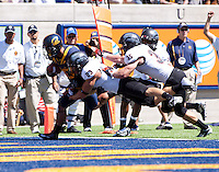 September 8, 2012: California's Isi Sofele rushes for a touchdown during a game against Southern Utah at Memorial Stadium, Berkeley, Ca