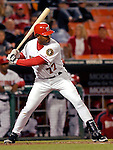18 May 2007: Washington Nationals infielder Tony Batista in action against the Baltimore Orioles at RFK Stadium in Washington, DC. The Orioles defeated the Nationals 5-4 in the first game of the 3-game interleague series...Mandatory Photo Credit: Ed Wolfstein Photo