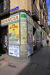 Laboratorio de Especialidades Café Farmacia, pharmacy cafe, Malasana barrio, Madrid city centre, Spain