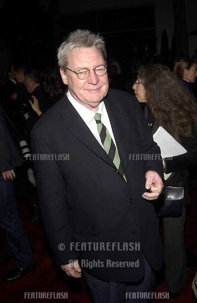 Director ALAN PARKER at the Los Angeles premiere of his new movie The Life of David Gale..18FEB2003.© Paul Smith / Featureflash