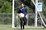 CARY, NC - JULY 20: Sabrina D'Angelo. The North Carolina Courage held a training session on July 20, 2017, at WakeMed Soccer Park Field 3 in Cary, NC.