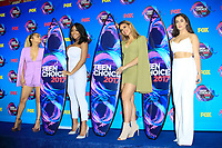 LOS ANGELES - AUG 13:  Ally Brooke, Normani Kordei, Dinah Jane,  Lauren Jauregui of Fifth Harmony, at the Teen Choice Awards 2017 at the Galen Center on August 13, 2017 in Los Angeles, CA