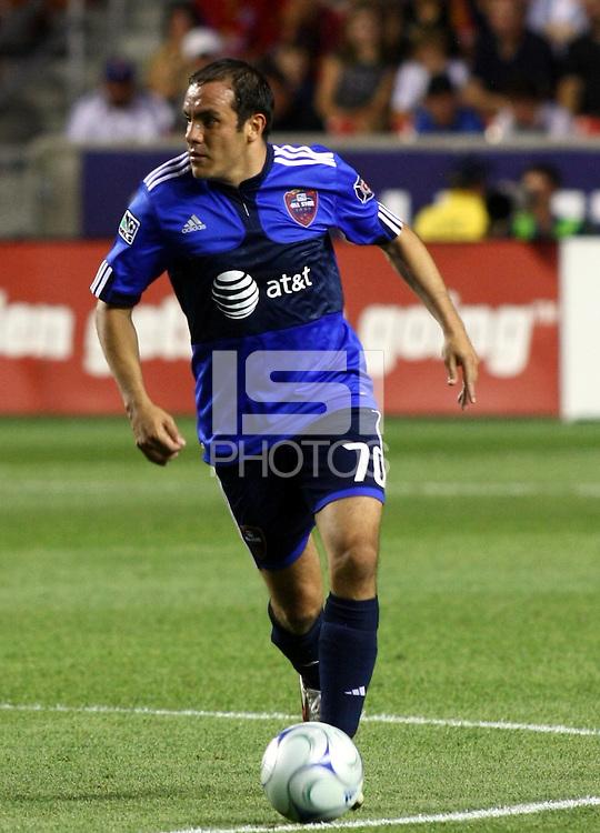 Chauhtemoc Blanco in the MLS All Stars v Everton 4-3 Everton win at Rio Tinto Stadium in Sandy, Utah on July 29, 2009