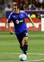 Chauhtemoc Blanco in the MLS All Stars v Everton 4-3 Everton win at Rio Tinto Stadium in Sandy, Utah on July 29, 2009