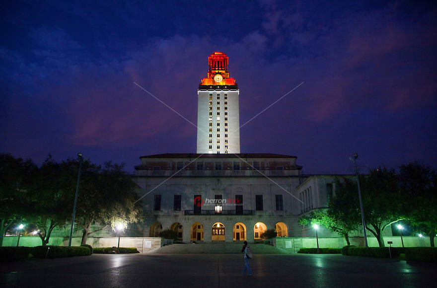 Campus shines bright after an athletics win