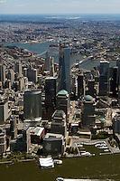 aerial photograph One World Trade Center, Manhattan, New York City