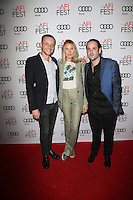 HOLLYWOOD, CA - NOVEMBER 11: Logan Sandler, Dree Hemingway and Mortimer Canepa at the premiere of Live Cargo' at AFI Fest 2016, presented by Audi at TCL Chinese 6 Theater on November 11, 2016 in Hollywood, California. Credit: Faye Sadou/MediaPunch