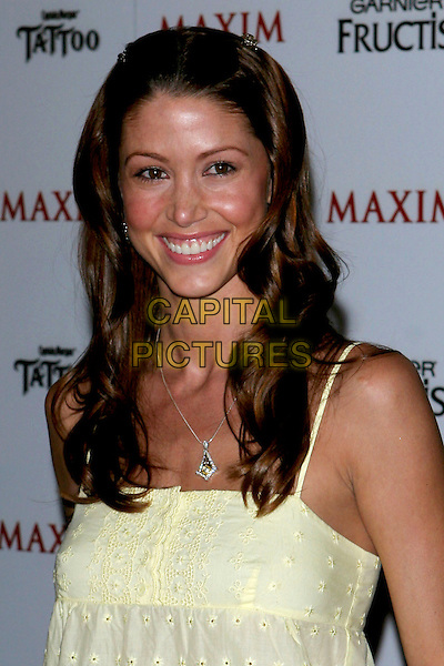 SHANNON ELIZABETH.Maxim Magazine's Hot 100 held at the Montmartre Lounge. Hollywood, California.May 14th, 2005.Photo Credit: Jacqui Wong/AdMedia.headshot portrait .www.capitalpictures.com.sales@capitalpictures.com.© Capital Pictures.