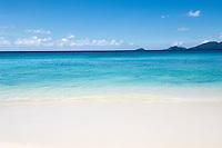 Seychelles, Island Mahe, Anse Soleil: beach at southwest coast<br />
