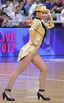 9.10.2012 Barcelona NBA Europa Live. Animacio. Dreamcheers. al palau st. Jordi