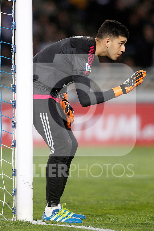 Real Sociedad's Geronimo Rulli during La Liga match. April 9,2016. (ALTERPHOTOS/Acero)
