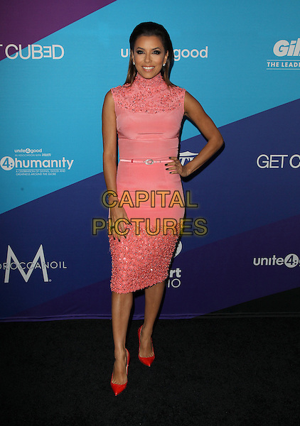 Los Angeles, CA - FEBRUARY 27: Eva Longoria Attending Unite4good And Variety Host 1st Annual Unite4:humanity Event, Held at Sony Pictures Studios California on February 27, 2014.  <br /> CAP/MPI/RTNUPA <br /> &copy;RTNUPA/MediaPunch/Capital Pictures