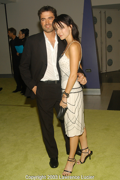 Ron Livingston and Lisa Sheridan