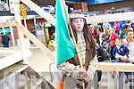 Darragh Creedon holding the Irish Flag at the All Ireland Championships in Millstreet last weekend/