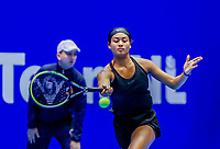 Rotterdam, Netherlands, December 13, 2017, Topsportcentrum, Ned. Loterij NK Tennis, Dainah Cameron (NED)<br /> Photo: Tennisimages/Henk Koster