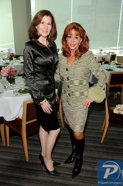 Ann Marie Griffin and Wendy Roberts at the 90th Anniversary Miss America luncheon held at Nieman Marcus inside the Fashion Show Mall, Las Vegas, NV, January 13, 2011 © Al Powers / Vegas Magazine
