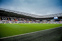 Sunday  14th   December 2014 <br /> Pictured: General Views of the Liberty Stadium, Swansea <br /> Re: Barclays Premier League Swansea City v Tottenham Hotspur  at the Liberty Stadium, Swansea, Wales,UK