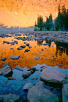 Sunrise over Baker Lake<br />