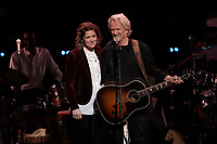 Los Angeles, CA - NOV 07:  Brandi Carlile and Kris Kristofferson  perform at 'Joni 75: A Birthday Celebration Live At The Dorothy Chandler Pavilion' on November 07 2018 in Los Angeles CA. Credit: CraSH/imageSPACE/MediaPunch