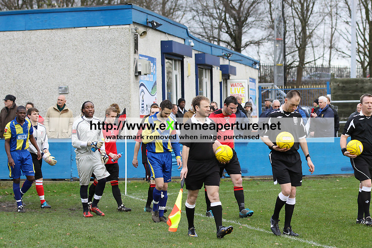 Redbridge FC v Romford Ryman Football League Division One North 31 Dec 2011
