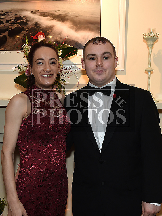 Steven and Eimear Smith at the Odie Wants to Walk Valentine Ball in the Glenside hotel. Photo:Colin Bell/pressphotos.ie